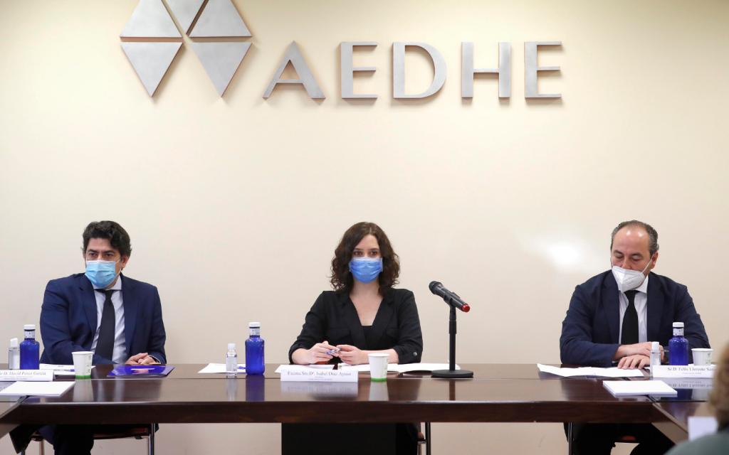 AEDHE_Noticias_Ayuso en AEDHE